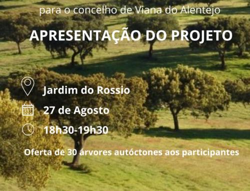 Apresentação do Projeto Além Risco em Viana do Alentejo